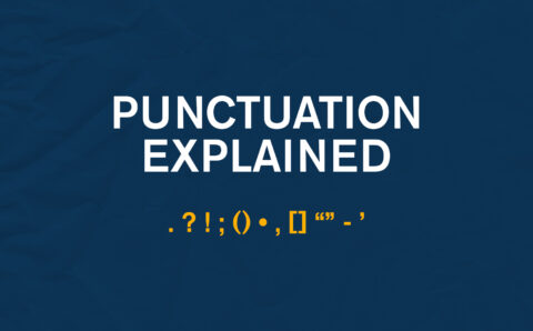 Punctuation Explained